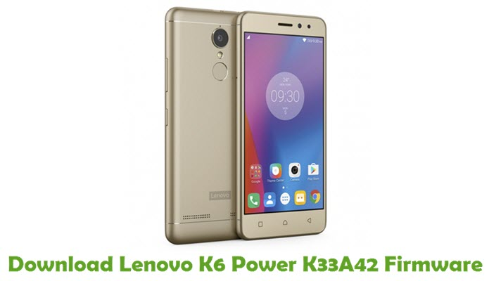Download Lenovo K6 Power K33A42 Stock ROM