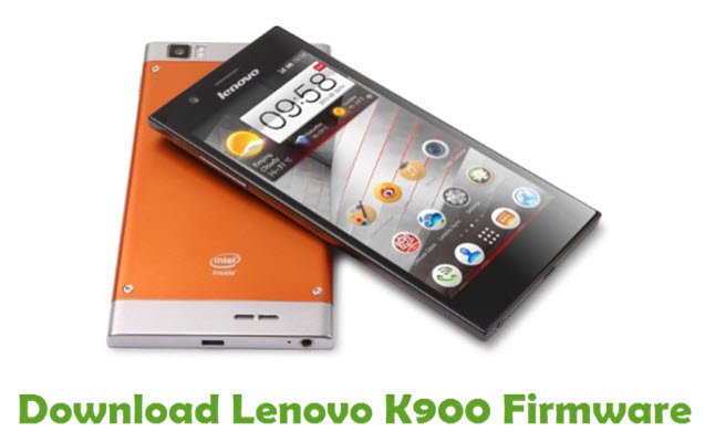 Download Lenovo K900 Firmware