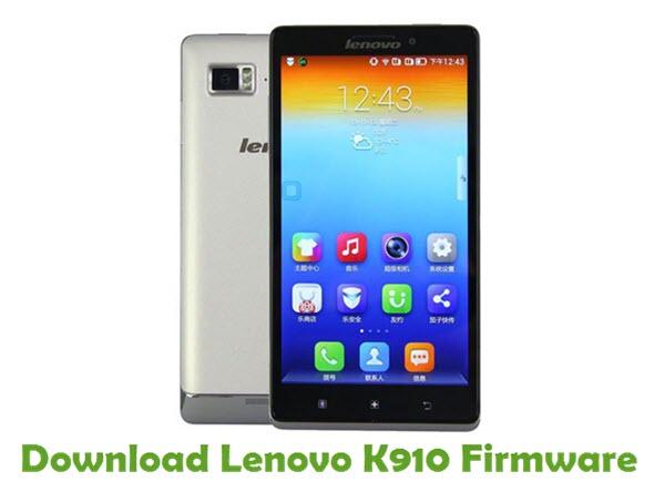 Download Lenovo K910 Stock ROM