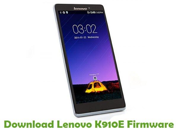 Download Lenovo K910E Stock ROM