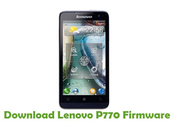 Download Lenovo P770 Stock ROM