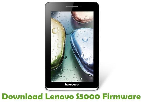 Download Lenovo S5000 Stock ROM