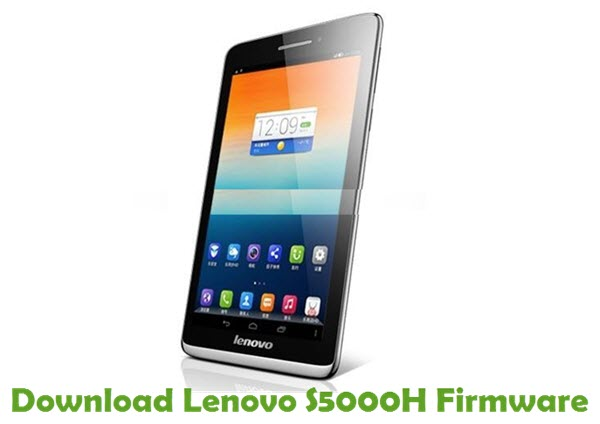 Download Lenovo S5000H Stock ROM