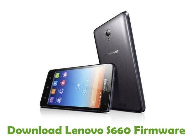 Download Lenovo S660 Stock ROM