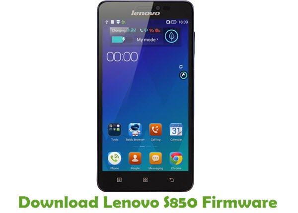 Download Lenovo S850 Stock ROM