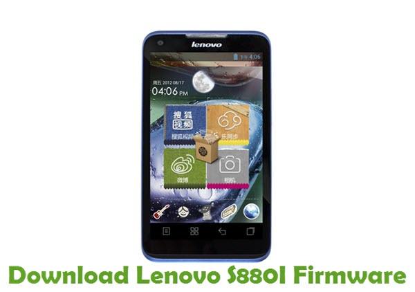 Download Lenovo S880I Stock ROM