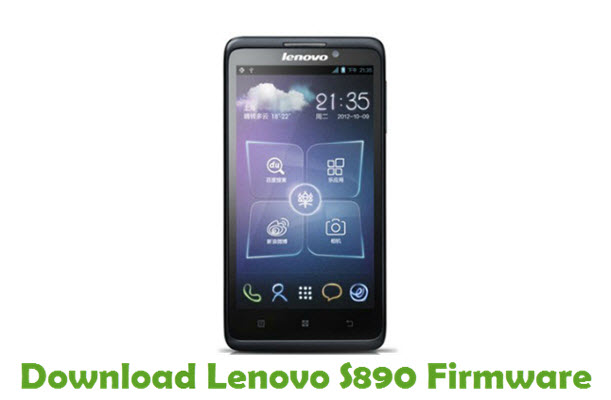 Download Lenovo S890 Firmware