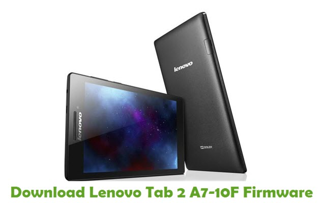 Download Lenovo Tab 2 A7-10F Stock ROM