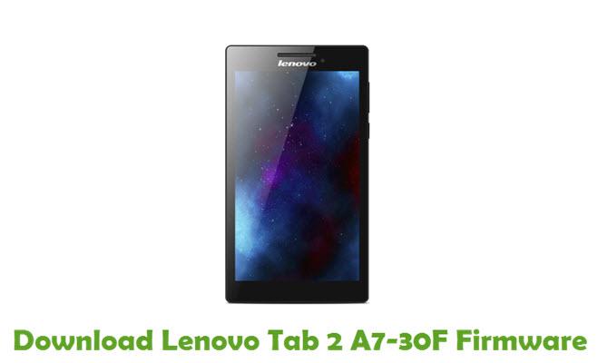 Download Lenovo Tab 2 A7-30F Stock ROM