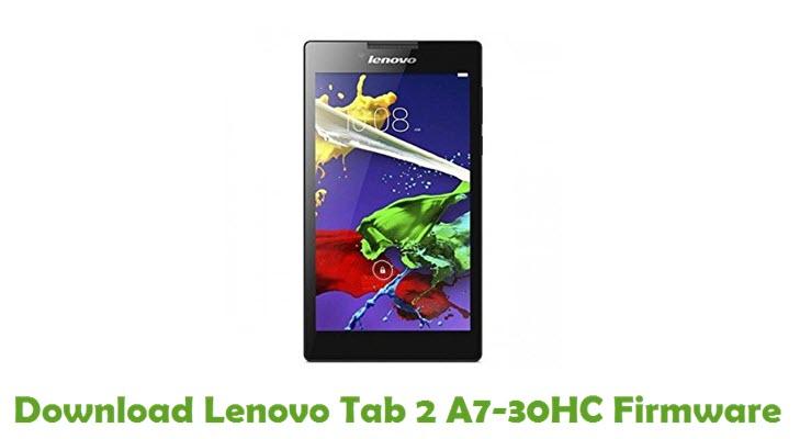 Download Lenovo Tab 2 A7-30HC Stock ROM