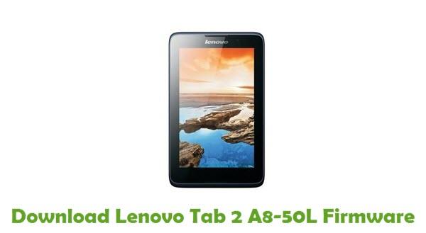 Download Lenovo Tab 2 A8-50L Stock ROM