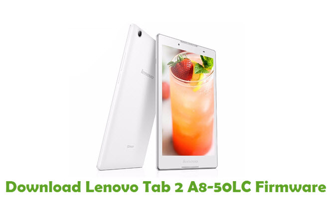 Download Lenovo Tab 2 A8-50LC Firmware