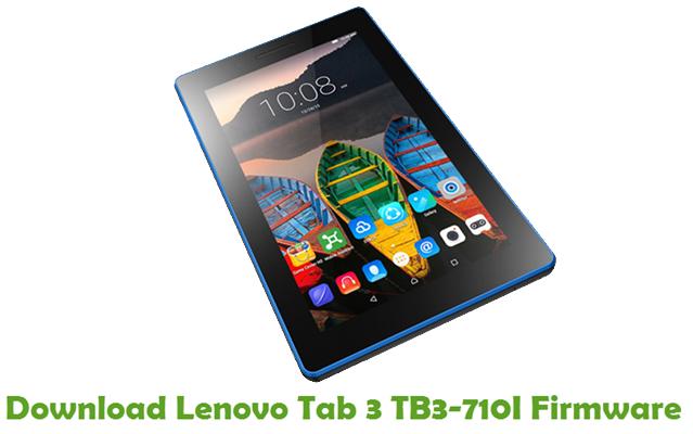 Download Lenovo Tab 3 TB3-710I Stock ROM