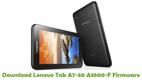 Download Lenovo Tab A7-50 A3500-F Stock ROM