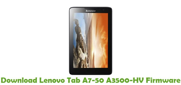 Download Lenovo Tab A7-50 A3500-HV Firmware