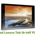 Lenovo Tab S8-50F Firmware