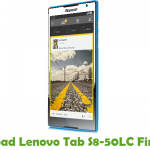 Lenovo Tab S8-50LC Firmware