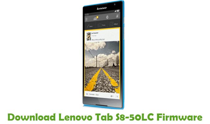 Download Lenovo Tab S8-50LC Stock ROM