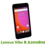 Lenovo Vibe B A2016B30 Firmware