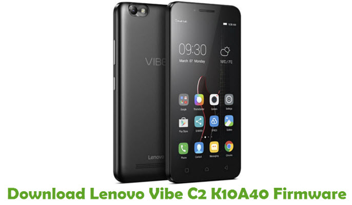 Download Lenovo Vibe C2 K10A40 Stock ROM