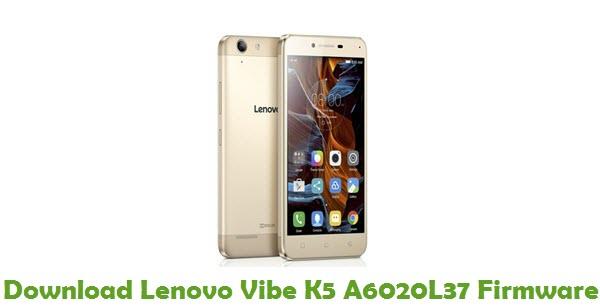 Download Lenovo Vibe K5 A6020L37 Stock ROM