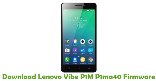 Download Lenovo Vibe P1M P1ma40 Stock ROM