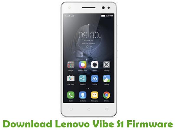 Download Lenovo Vibe S1 Firmware