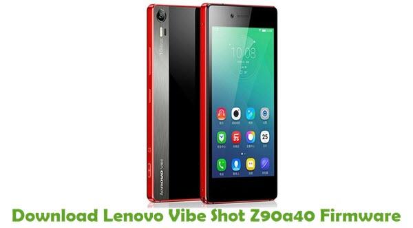 Download Lenovo Vibe Shot Z90a40 Stock ROM