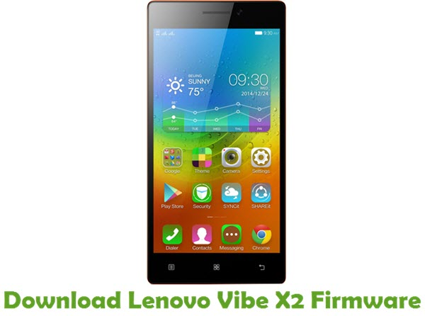 Download Lenovo Vibe X2 Firmware