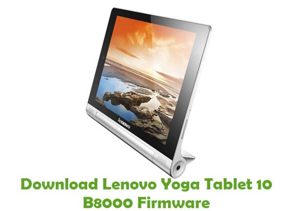Download Lenovo Yoga Tablet 10 B8000 Stock ROM