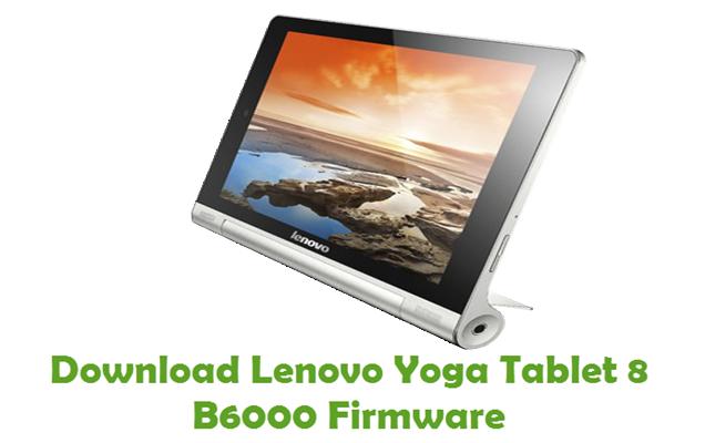 Download Lenovo Yoga Tablet 8 B6000 Stock ROM