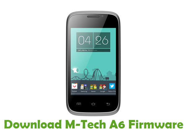 Download M-Tech A6 Stock ROM