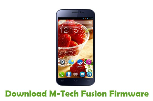 Download M-Tech Fusion Stock ROM