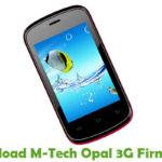 M-Tech Opal 3G Firmware