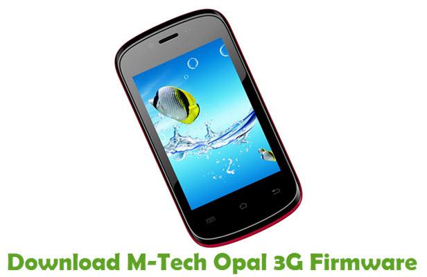Download M-Tech Opal 3G Stock ROM
