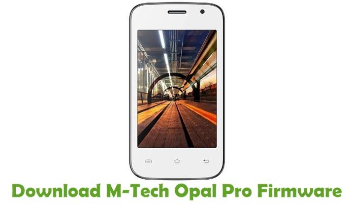 Download M-Tech Opal Pro Firmware