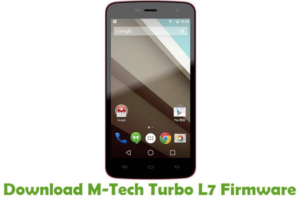 Download M-Tech Turbo L7 Stock ROM