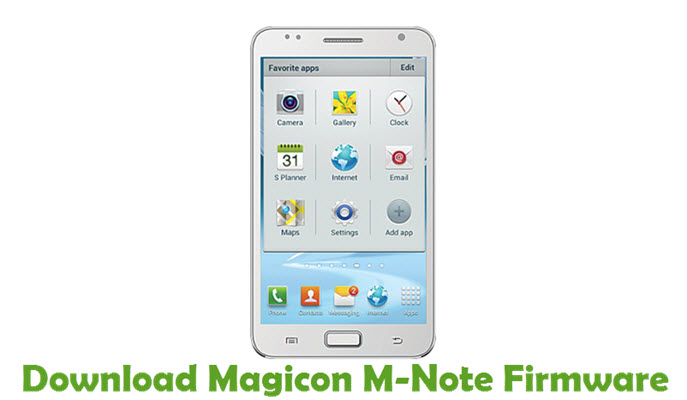 Download Magicon M-Note Firmware