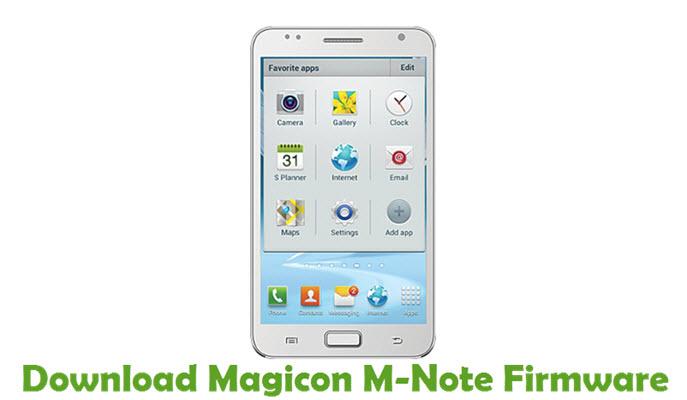 Download Magicon M-Note Stock ROM