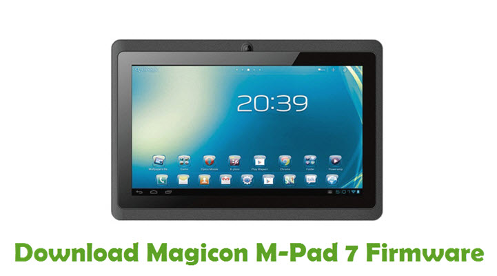 Download Magicon M-Pad 7 Firmware
