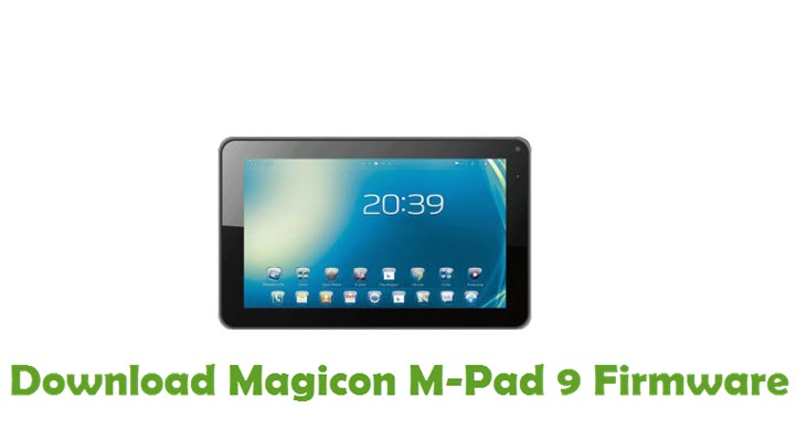 Download Magicon M-Pad 9 Firmware