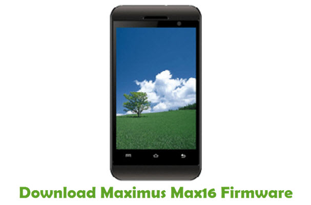 Download Maximus Max16 Firmware