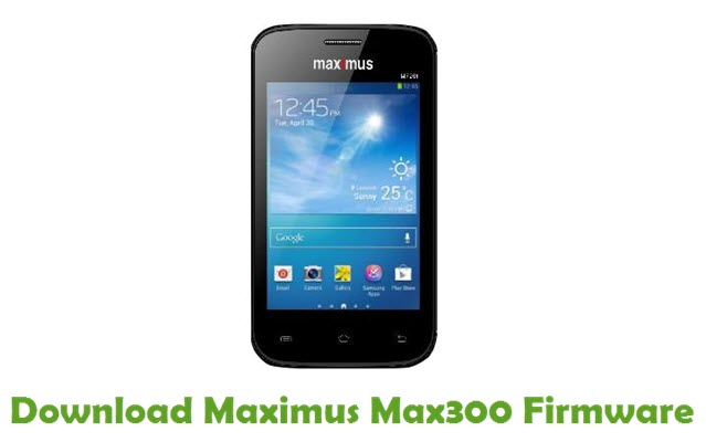 Download Maximus Max300 Firmware