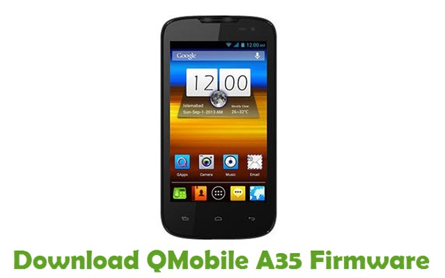 Download QMobile A35 Firmware