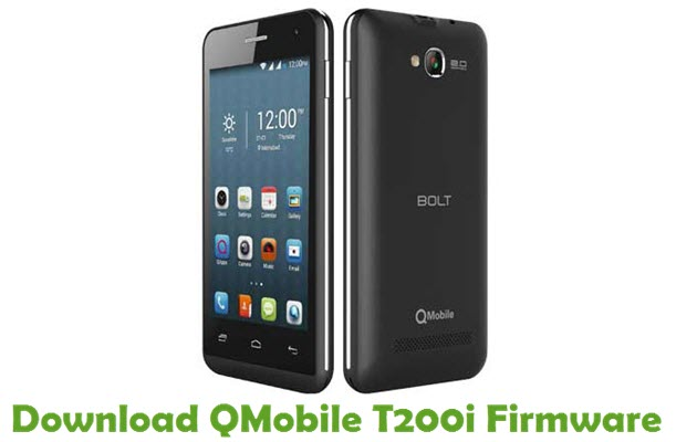 Download QMobile T200i Firmware
