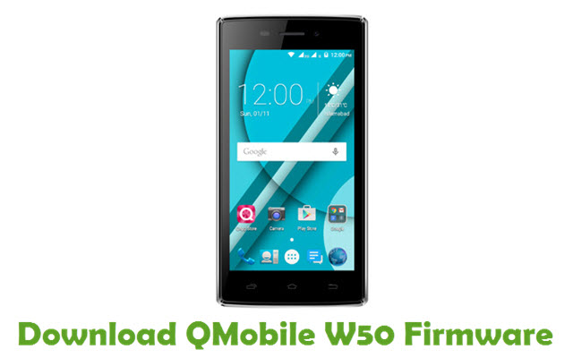 Download QMobile W50 Firmware