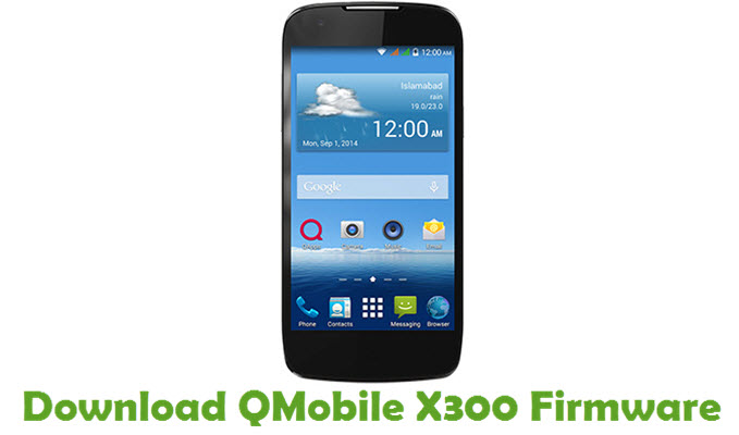 Download QMobile X300 Firmware