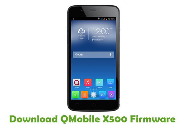 Download QMobile X500 Firmware