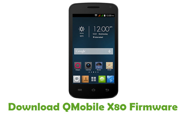 Download QMobile X80 Firmware