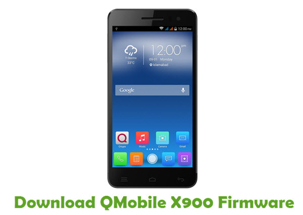 Download QMobile X900 Firmware